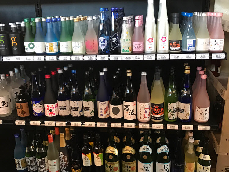 Choose from Shochu, Soju Umeshu, and more