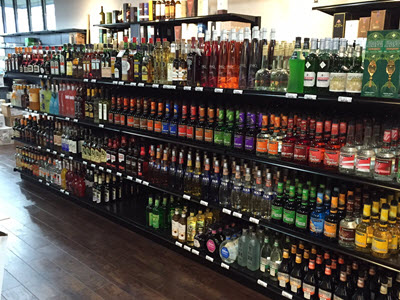 Choose from many flavored liqueurs, fruits, herbs and nuts