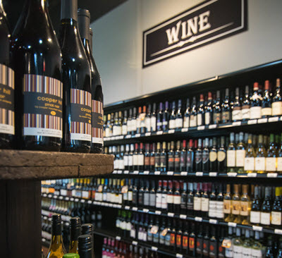 Local wineries, Imports and Large Selection